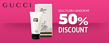 Gucci flora handcream - 50% discount