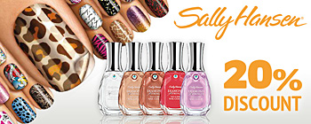 Sally Hansen - 20% discount!