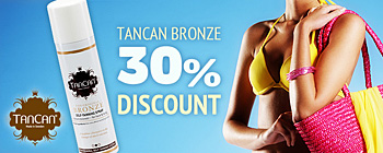 TanCan Bronze - 30% discount!