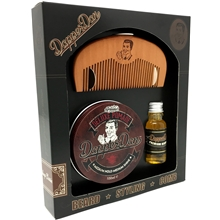Dapper Dan Hairy Man Gift Set - Deluxe Pomade