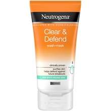 Clear & Defend Wash Mask