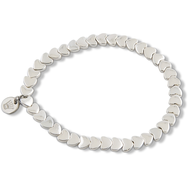 PEARLS FOR GIRLS Heart Bracelet